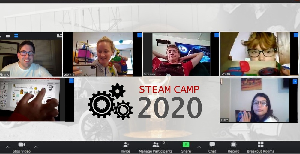 District Delivers With Virtual Summer STEAM Camp