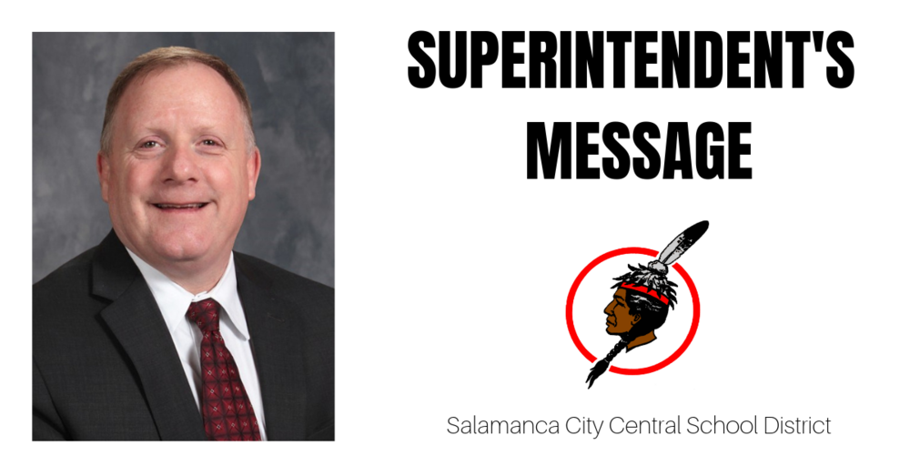 From the Superintendent: We Are Committed  to Safety, Wellness and Instruction
