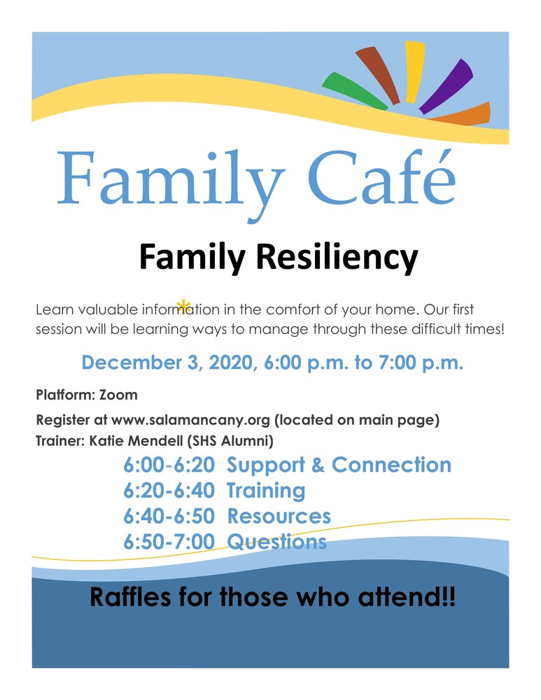 Family Cafe - Building Resiliency at home