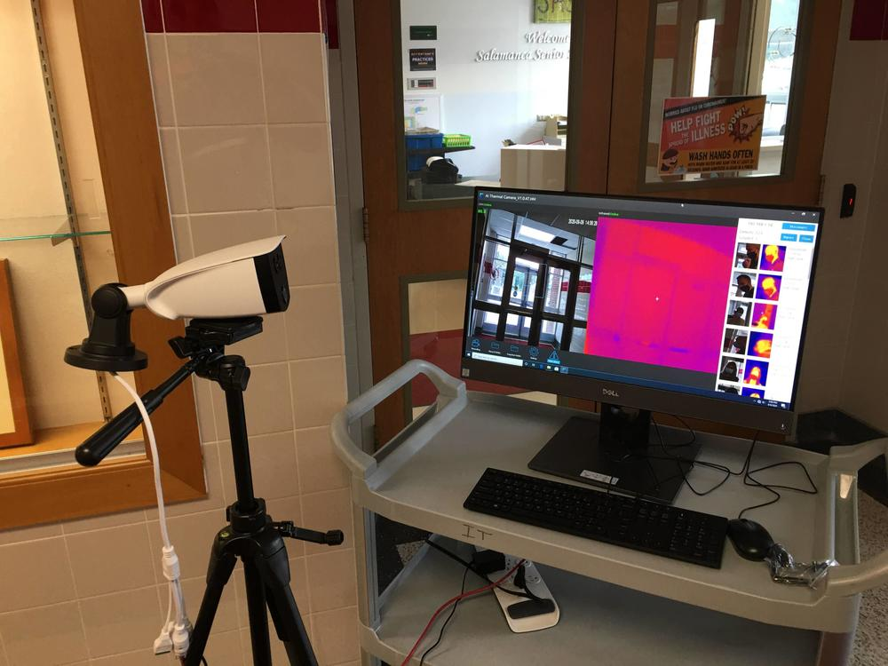 District Schools Outfitted With Temperature Scanners