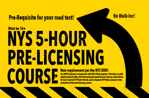 Five Hour Pre-licensing Course Available
