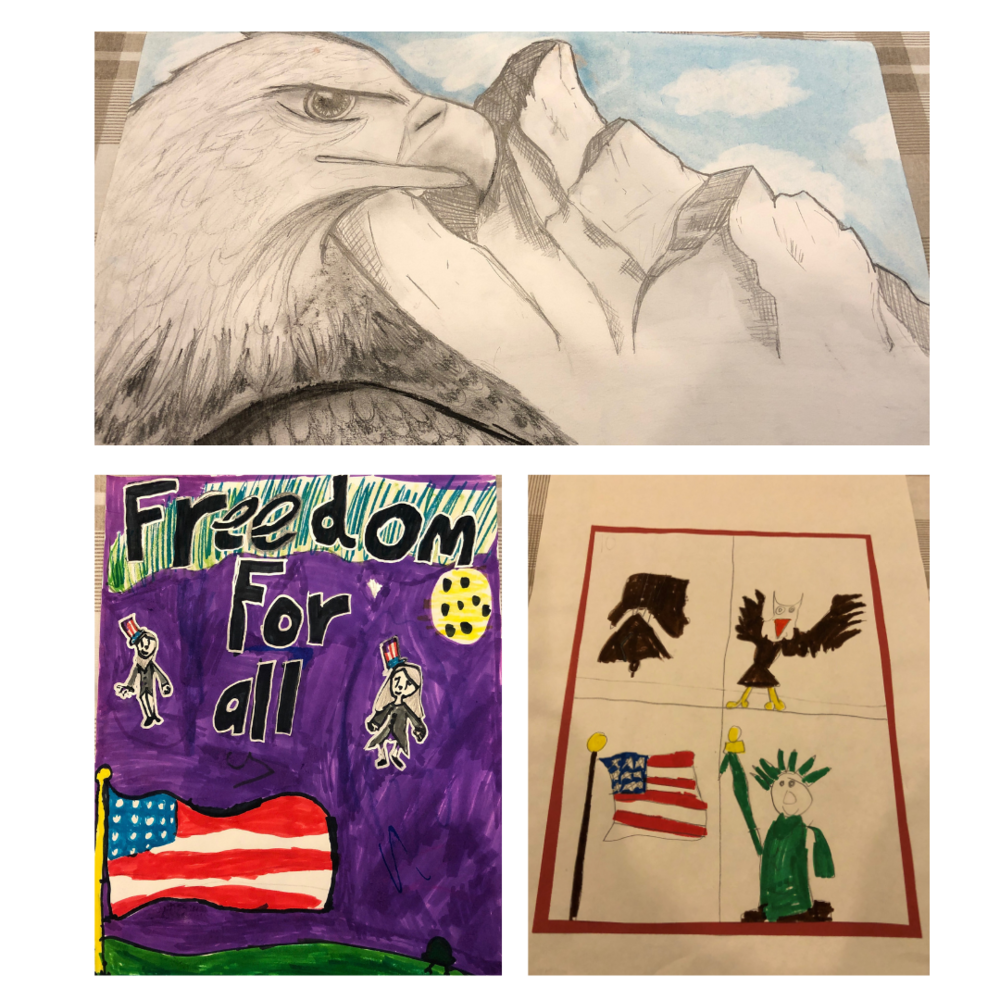 3 Students Honored in VFW Art Contest