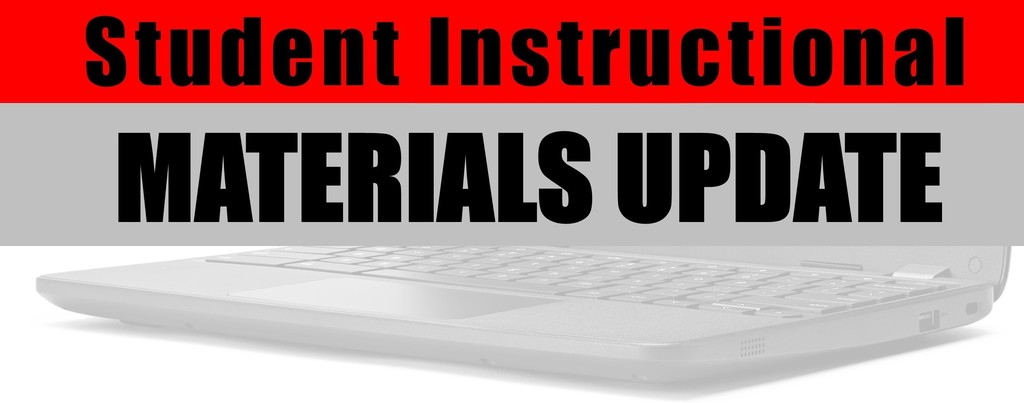 instructional materials return