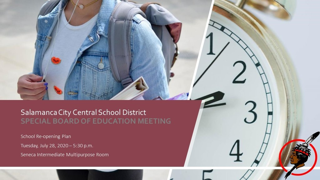 Reopening Plan BOE Meeting