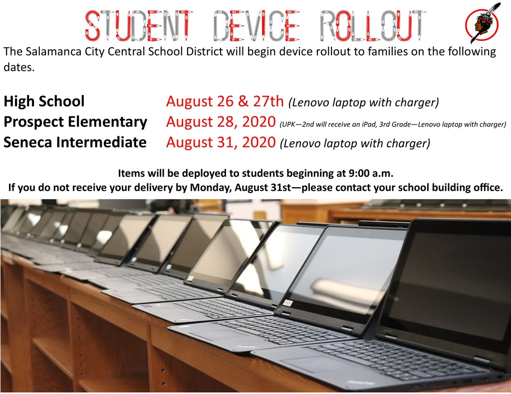 Device Rollout - 2020-2021 School Year poster